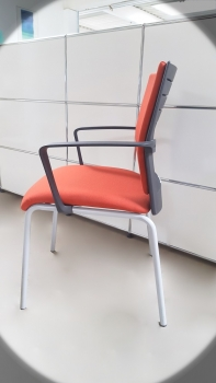 Steelcase - Besucherstuhl - orange