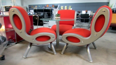 3 x Moroso Gluon Sessel