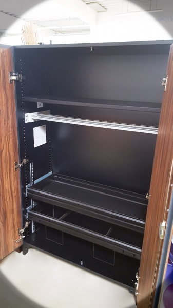 Steelcase - Share It - Aktenschrank - Nußbaum - 100 cm
