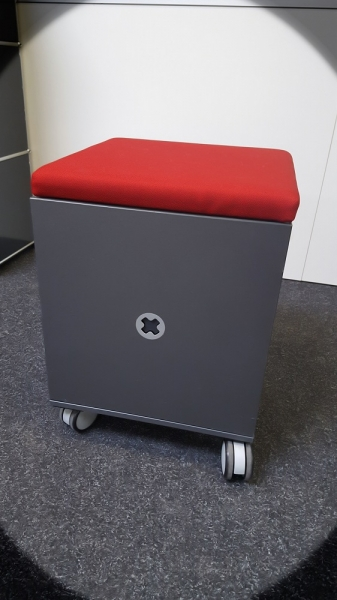 Steelcase - Roll- / Sitzcontainer - anthrazit